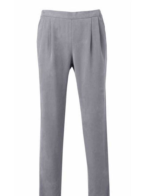 <p> </p><p> </p><p>These lightweight, go-with-everything trousers from Banana Republic feel like pyjamas but look a million dollars. Win win... Banana Republic grey trousers, £69.50, for stockists call 0207 758 3550</p>