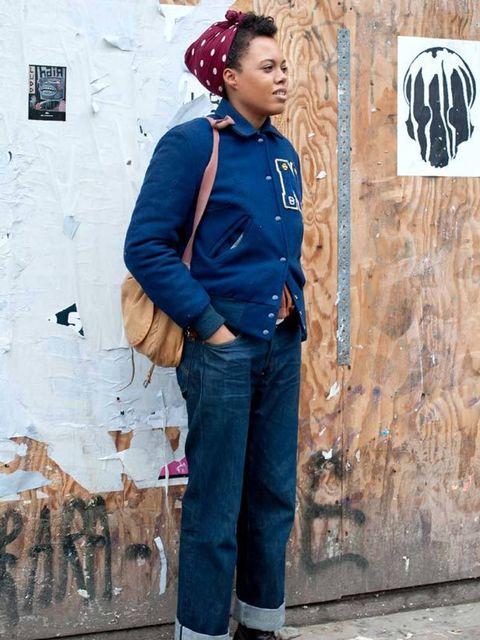 <p>Photo by Silvia Olsen.Lena, 30, Stylist. All vintage.</p>
