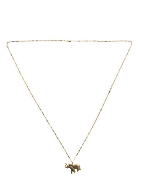 "<p>Vanessa Mooney elephant necklace, £35, at <a href=""http://www.farfetch.com/shopping/women/search/schid-76616e65737361206d6f6f656e79/item10053525.aspx"">Farfetch</a></p>"