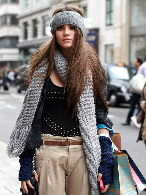 <p>Photo by Chloe Paul.Louise, 22, Student. River Island top &amp&#x3B; trousers, Urban Outfitters headband. </p>