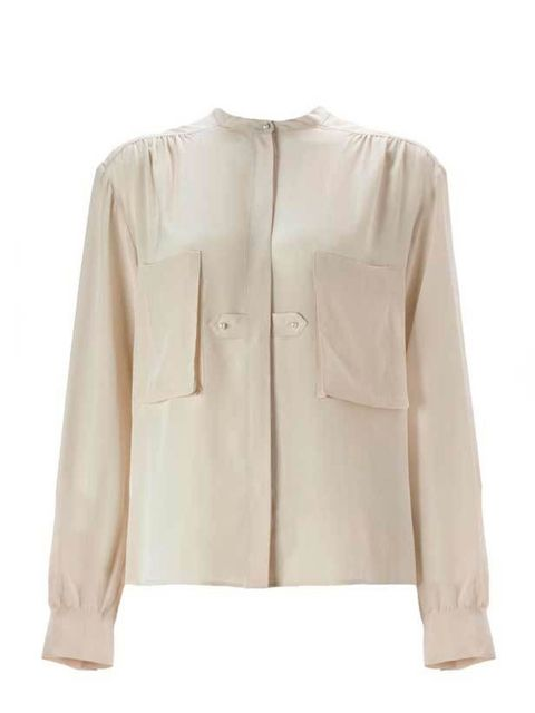 "<p><a href=""http://www.whistles.co.uk/fcp/categorylist/dept/Tops?resetFilters=true"">Whistles</a> Amy blouse, £95</p>"