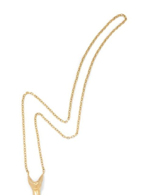 "<p>Hannah Warner fang necklace, £185, at <a href=""http://www.seftonfashion.com/shopping/women/search/schid-68616e6e6168207761726e6572/items.aspx"">Sefton Fashion</a></p>"