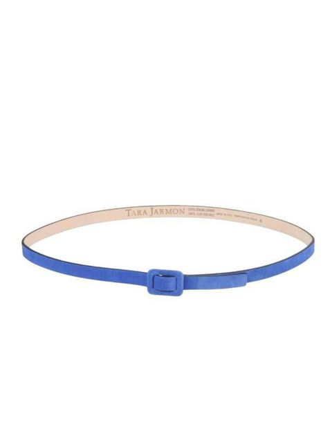 "<p>Tara Jarmon cobalt blue belt, £49, at <a href=""http://www.yoox.com/item/YOOX/TARA+JARMON/dept/women/tskay/B84CE7A2/rr/1/cod10/46178318CI/sts/sr_women80"">yoox.com</a></p>"