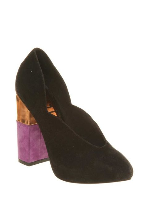 """<p> </p><p>Channel next season's 70s trend while adding a luxe hit of colour to your workwear with these suede courts…<a href=""""http://www.office.co.uk/"""">Office</a> suede court shoes, £88</p>"""