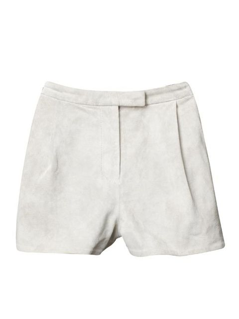 <p> </p><p> </p><p>H&amp;M's exciting new pieces are perfect for wearing now and next season. With tights or bare legs, these suede shorts are timeless staples. H&amp;M suede shorts, £39.99, for stockists call 0207 323 2211</p>