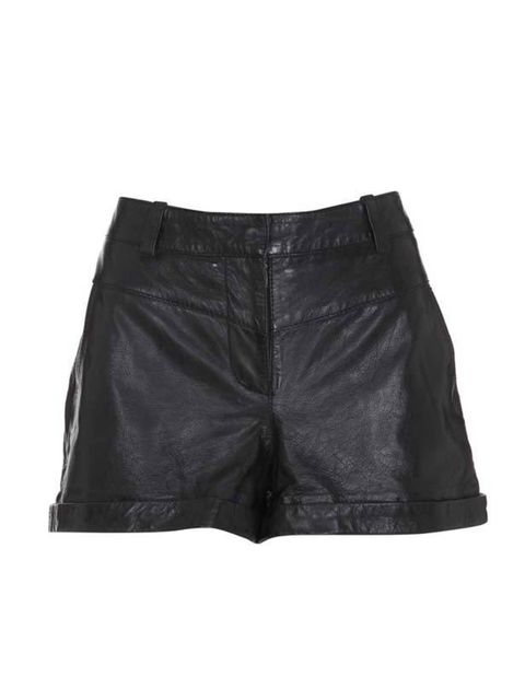 <p>Warehouse leather shorts, £70, for stockists call 0845 122 2251</p>