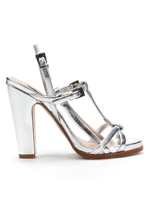 "<p><a href=""http://www.zara.com/webapp/wcs/stores/servlet/product/uk/en/zara-S2011/61144/261531/WIDE-HEELED%2BSILVER%2BSANDAL"">Zara</a> wide-heeled silver sandal, £79.99</p>"