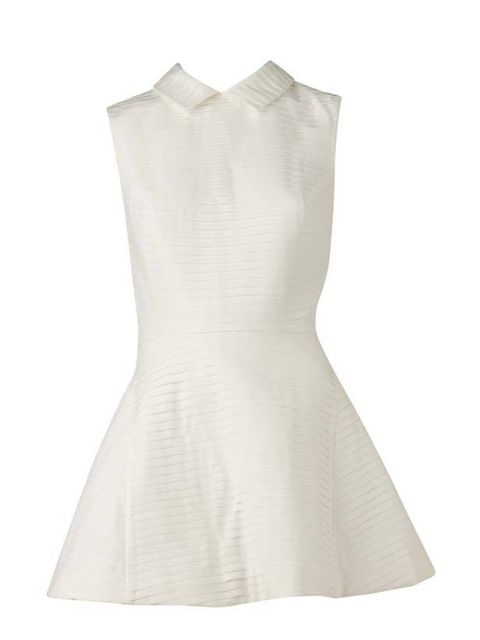"<p>Lilee white pleated dress, £340, at <a href=""http://www.selfridges.com/en/Womenswear/Categories/ONLY-AT-SELFRIDGES/Pleated-dress_236-3002097-L11SSOP04S/"">Selfridges</a> </p>"