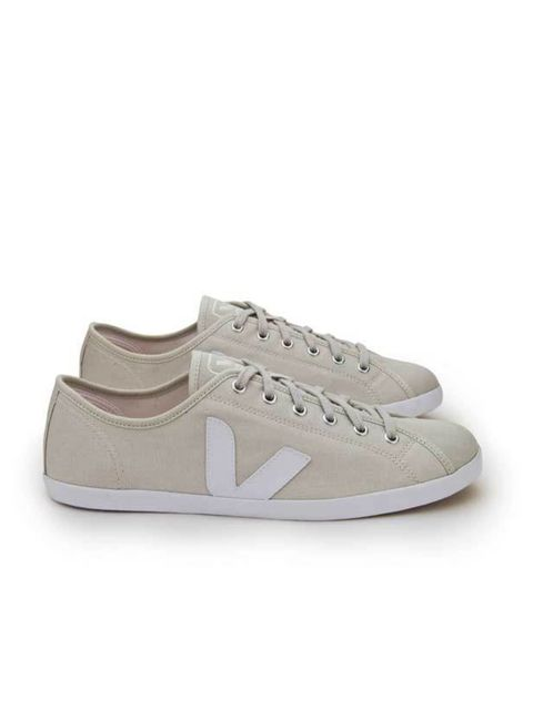 "<p>Veja canvas trainers, £59.99, at <a href=""http://www.offspring.co.uk/perl/go.pl/style.htm?style_uid=5851&color_uid=15903"">Offspring</a></p>"