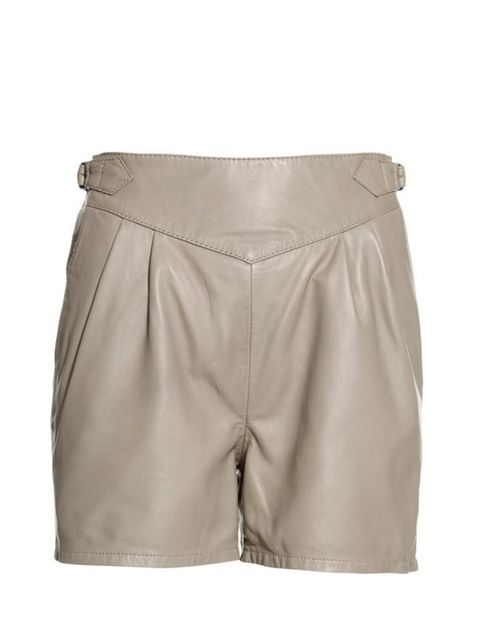 "<p> </p><p>Break the mould by swapping your black leather shorts in favour of this spring-appropriate taupe pair. <a href=""http://www.reissonline.com/shop/womens/utility_luxe/milla/taupe/"">Reiss</a> taupe leather shorts, £150</p>"