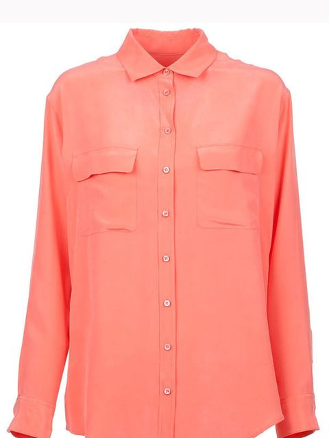 "<p>Equipment oversized blouse, £210, at <a href=""http://www.farfetch.com/shopping/women/search/schid-65717569706d656e74/item10069524.aspx"">farfetch</a></p>"