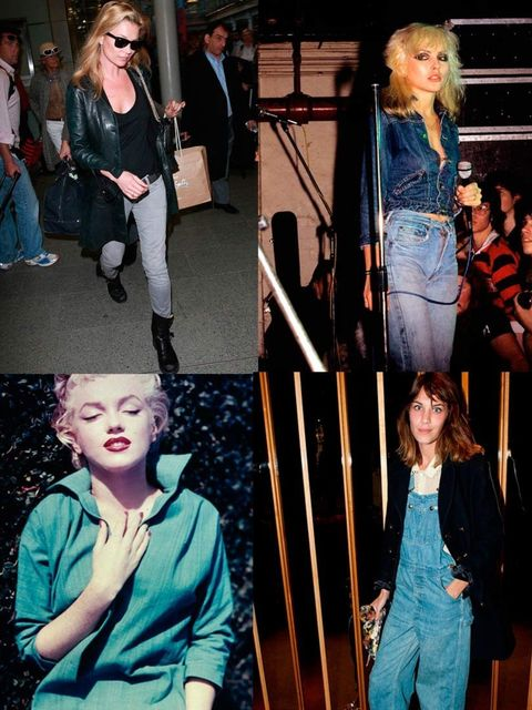 "<p>As you may have guessed from our April issue, we love a good bit of <a href=""http://www.elleuk.com/fashion/trends/team-elle-tries-out-this-seasons-denim-overalls"">denim</a>. And we're not alone - for decades some of our favourite celebrities have been"
