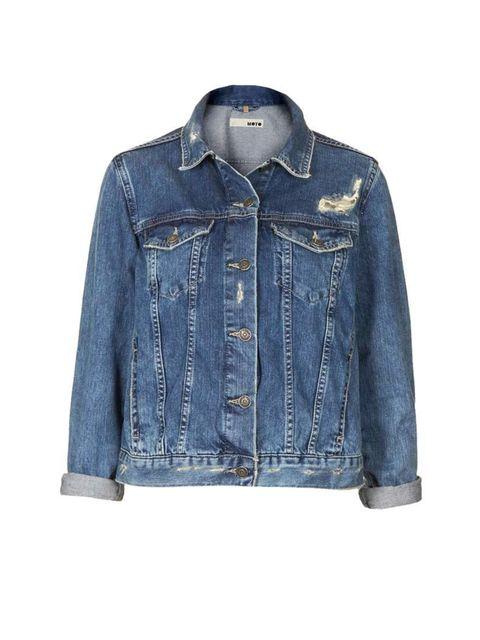 "<p><strong>The Jacket</strong></p><p>MOTO denim jacket, £45, at <a href=""http://www.topshop.com/en/tsuk/product/clothing-427/denim-897/moto-vintage-wash-denim-jacket-2721278?bi=1&ps=200"">Topshop</a></p>"
