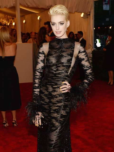 <p>Last night in New York fashion's great and good headed to the biggest and most stylish event of the industry's calendar: the Met Ball. This year's theme was Punk: Chaos to Couture, and we're pleased to report that some of the guests channelled it into