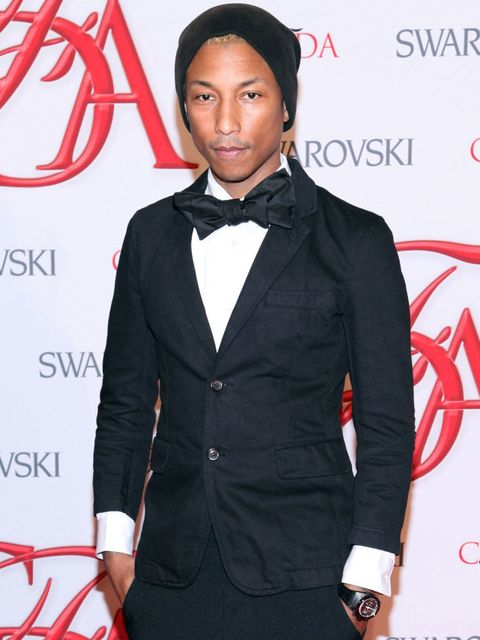 <p>Sooooo Pharrell Williams is 40-years-old. We know, ridiculous right? How is he still so smooth? Does he moisturise his face with baby oil every night while crooning in falsetto to his lady-love?</p><p>It pleases us to think he does.</p><p>Or maybe it's
