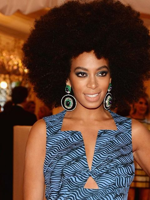 "<p>Not quite punk, but we do love <a href=""http://www.elleuk.com/star-style/celebrity-style-files/solange-knowles"">Solange Knowles'</a> <a href=""http://www.elleuk.com/beauty/hair/hair-features/the-expert-guide-to-afro-hair"">afro hair</a>.</p>"