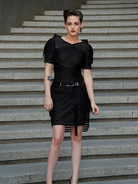 Kristen Stewart attends the Chanel Cruise 2015/16 show in Seoul, May 2015.