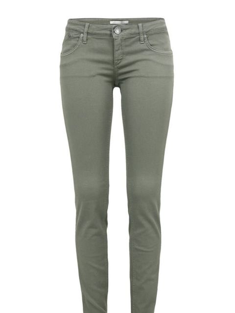 """<p>For a spring-appropriate alternative to stonewash denim, opt for khaki jeans like this great pair from the Queen of skinnies… Victoria Beckham olive jeans, £225, at <a href=""""http://www.coggles.com/item/Victoria-Beckham/Low-Rise-Super-Skinny-Olive-Jeans"""