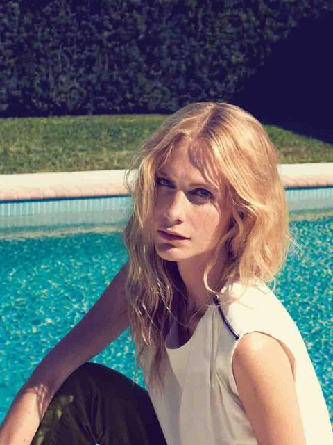 <p>Poppy Delevingne for Vero Moda, high summer 2013</p>
