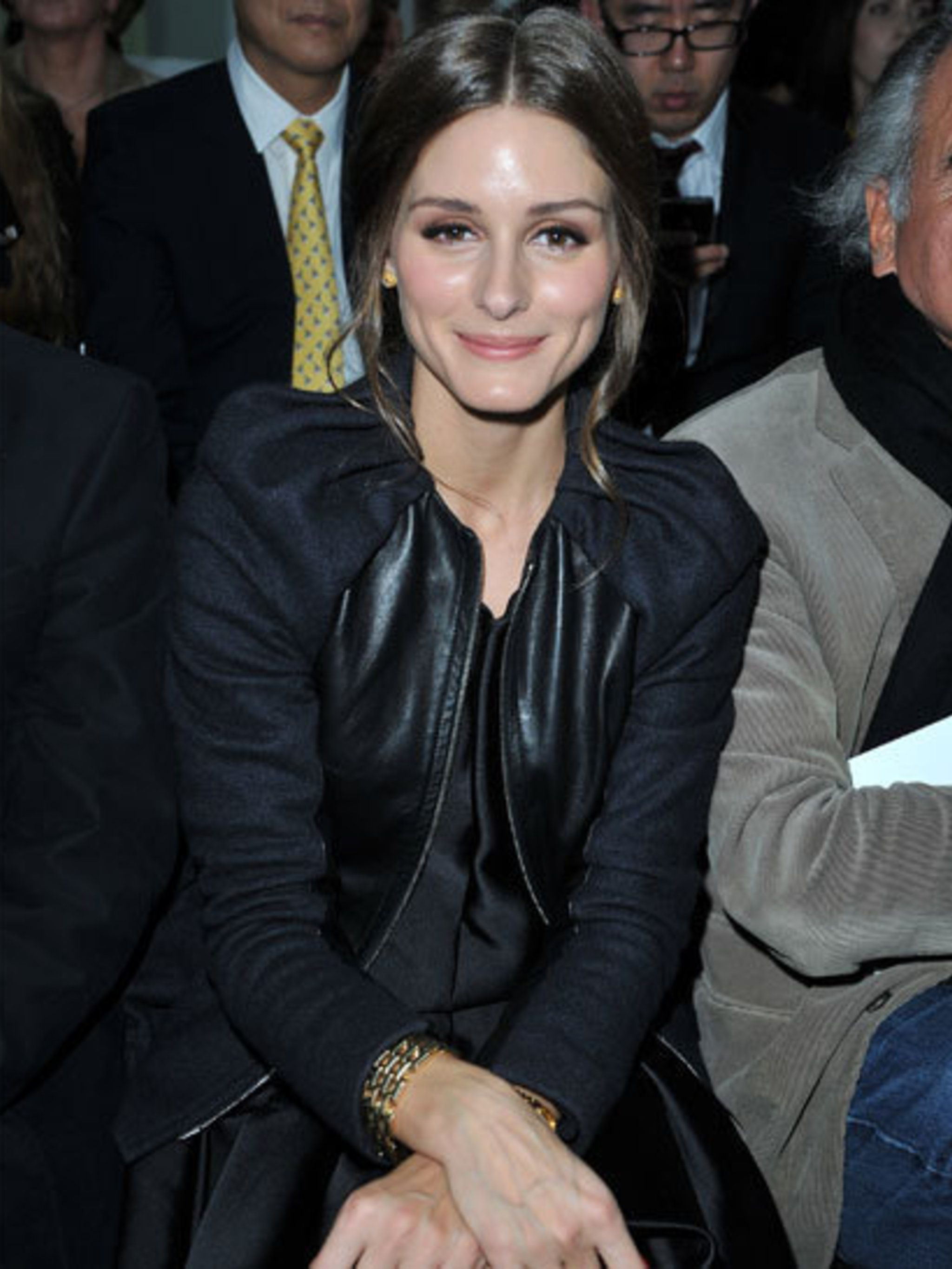 <p>Olivia Palermo Spring Summer 2013 Front Row</p>