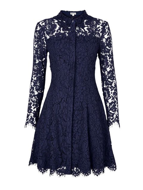 "<p><a href=""http://www.veryexclusive.co.uk/whistles-lace-shirt-dress-navy/1600053872.prd"" target=""_blank"">Whistles</a> dress, £195</p>"