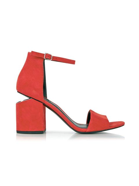"<p><a href=""http://www.veryexclusive.co.uk/alexander-wang-abby-mid-heel-sandals-brick/1600063511.prd"" target=""_blank"">Alexander Wang</a> shoes, £370</p>"