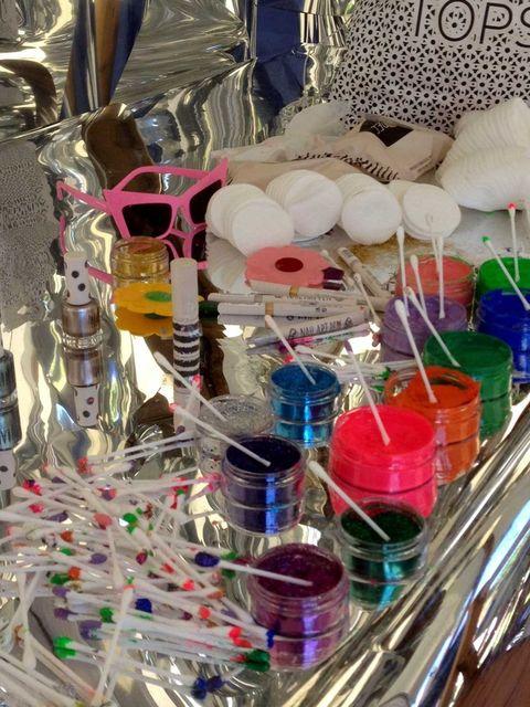 <p>The designer's makeup toolkit</p>