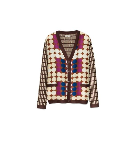 """<p><a href=""""http://www.elleuk.com/fashion/news/sofia-coppola-takes-marni-for-h-m-to-marrakech"""">Marni for H&amp;M</a> cardigan, £59.99, available at <a href=""""http://www.hm.com/gb/"""">H&amp;M</a></p>"""