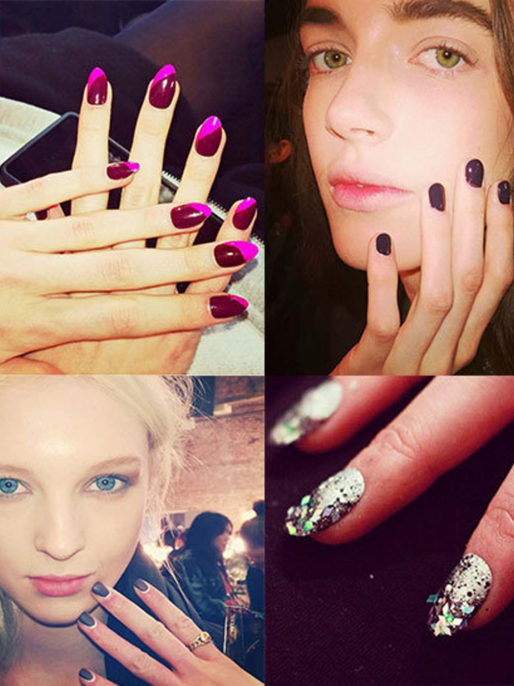 "<p>We were backstage in all four cities <a href=""https://twitter.com/ELLEBEAUTYTEAM"">#NailWatching</a> our way through the shows to bring you our edit of the very best nail looks.</p><p><a href=""http://www.elleuk.com/beauty/hair/hair-features/best-hair-au"