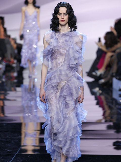 """<p>Armani Prive</p><p><strong><a href=""""http://www.elleuk.com/fashion/marvel-at-armani-prive-couture"""" target=""""_blank"""">SEE THE FULL ARMANI PRIVE SHOW</a></strong></p>"""