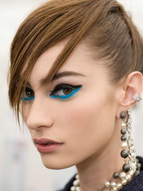 <p>The finished look at the Chanel Cruise 2013/14 show in Singapore</p>