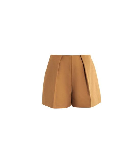 "<p>A tailored style and a classic tan colour is the perfect combination like these shorts from Carven available at <a href=""http://www.matchesfashion.com/product/138228"">matches</a>, £220.</p><p>They are smart enough to wear to work or on a summer city br"