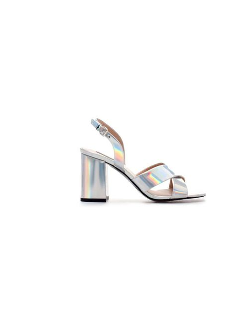 "<p>We like these Zara sandals for  many reasons: the metallic colour, the chunky heel which makes them easy to wear and the price.</p><p>Buy them now! £59.99 at <a href=""http://www.zara.com/webapp/wcs/stores/servlet/product/uk/en/zara-neu-S2013/358009/118"