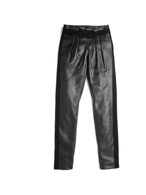 "<p>Rebecca Minkoff leather trousers, £523.39, at Shopbop</p><p><a href=""http://shopping.elleuk.com/browse?fts=rebecca+minkoff+leather+pants"">BUY NOW</a></p>"