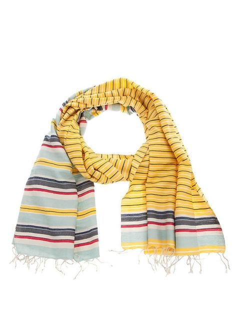 <p>Epice striped scarf</p>
