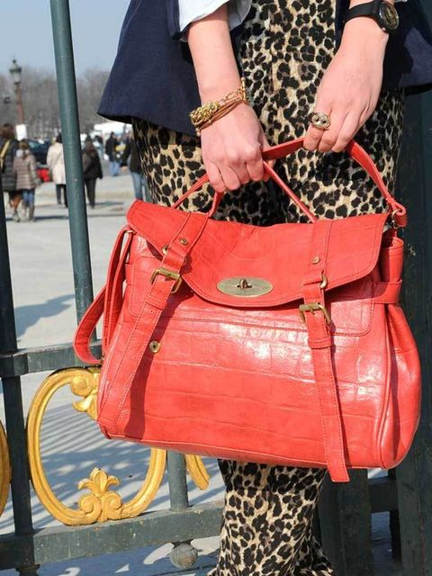 """<p>Photo by Imaxtree.<a href=""""http://www.elleuk.com/catwalk/collections/mulberry/"""">Mulberry </a>Alexa bag, <a href=""""http://www.elleuk.com/catwalk/collections/yves-saint-laurent/"""">YSL</a> shoes. </p>"""