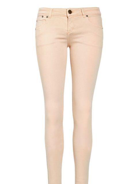 <p>Victoria Beckham pale pink jeans, £200, at Net-a-Porter </p>