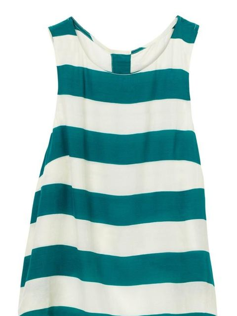 <p>H&amp&#x3B;M striped vest, £19.99, for stockists call 0207 323 2211</p>
