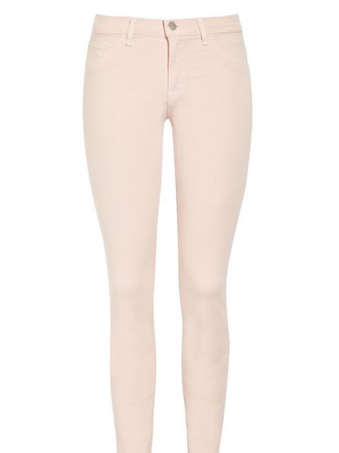 "<p>J Brand  cropped skinny jeans, £205, at <a href=""http://www.net-a-porter.com/product/168633"">Net-a-Porter</a></p>"