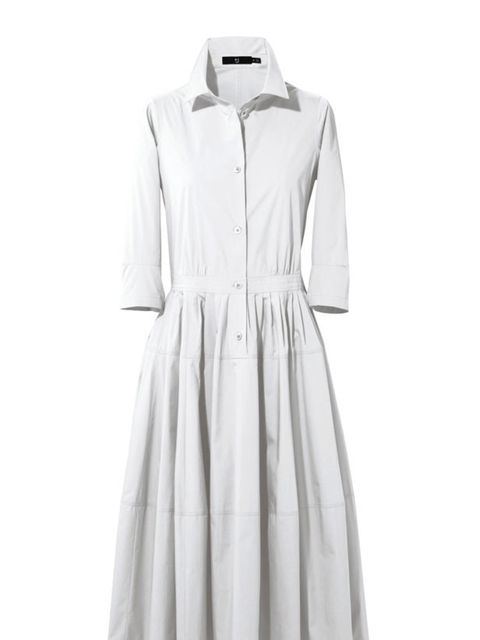 <p>+J capped shirt dress for the high summer collection for Uniqlo</p>