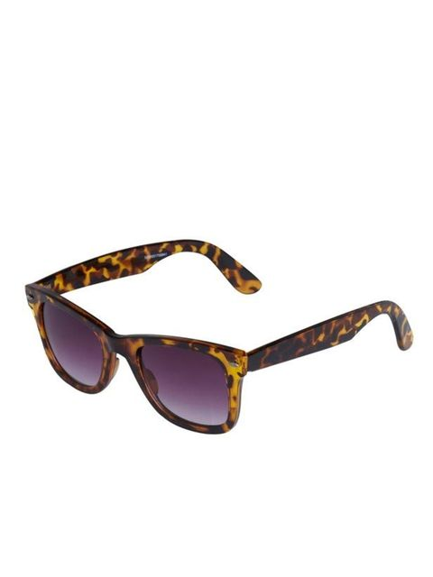 "<p> </p><p> </p><p>It's never too early to invest in a pair of new sunnies. And the high street is your safest bet if you're likely to break them… <a href=""http://www.riverisland.com/Online/"">River Island</a> tortoiseshell sunglasses, £12.99</p>"