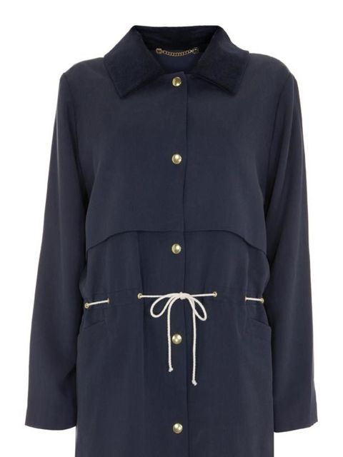 "<p> </p><p>Hailing from Austria via Berlin, Topshop has just started stocking unisex label Meshit. Renowned for its clean cuts with an androgynous twist, we've fallen in love with this timeless spring jacket… Meshit drawstring jacket, £185, at <a href=""ht"