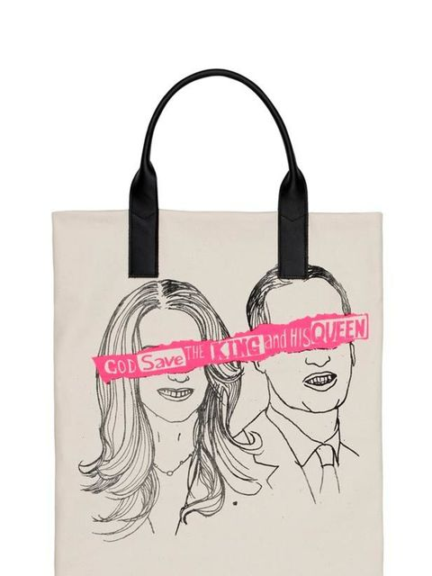 "<p>Commemorate the Royal wedding with a kitsch tote by the master of uber-cool prints, Simeon Farrer… Simeon Farrar Royal Wedding printed tote bag, £85, at <a href=""http://www.liberty.co.uk/fcp/product/Liberty/Simeon-Farrar/Royal-Wedding-Tote-Bag-Simeon-F"