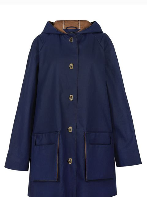 <p>Cos coated-cotton jacket, £129, for stockists call 0207 478 0400</p>
