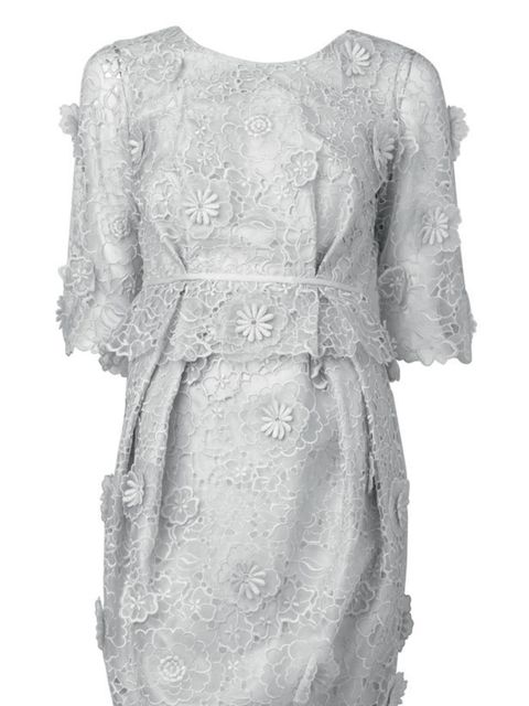 <p>Stella McCartney lace cut out dress, £2,490, at Selfridges, for stockists call 0800 123 400</p>