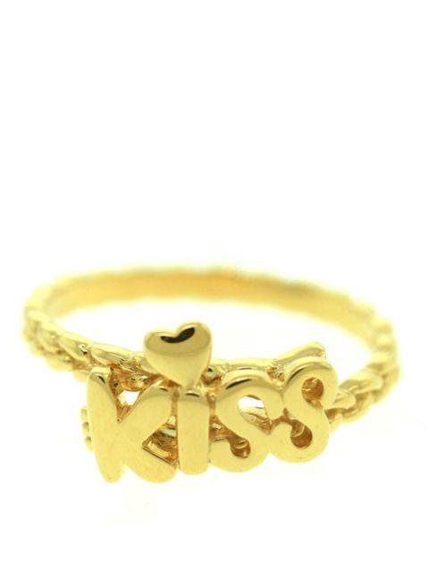 """<p>Matina Amanita 'Kiss' ring, £74, at <a href=""""http://www.kabiri.co.uk/designers/matina-amanita/kiss-ring.html"""">Kabiri</a></p>"""