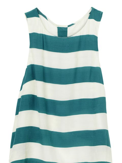 <p>H&M striped vest, £19.99, for stockists call 0207 323 2211</p>