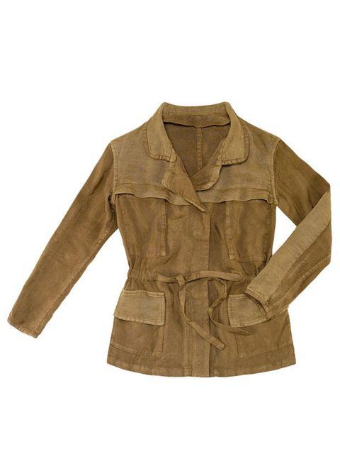 "<p> </p><p><a href=""http://www.zara.com/webapp/wcs/stores/servlet/product/uk/en/zara-S2011/61135/330529/STUDIO%2BSAFARI%2BJACKET"">Zara</a> safari jacket, £89.99</p>"
