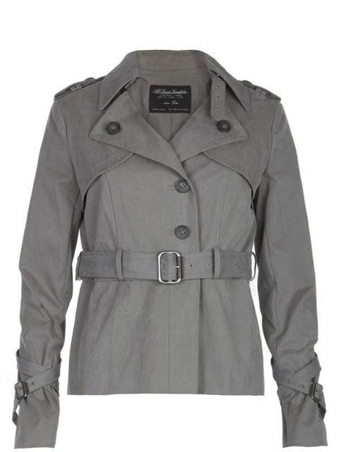 "<p> </p><p><a href=""http://www.allsaints.com/women/outerwear/ophelia-mini-mac/charcoal/wch024-33"">All Saints</a> mini mac, £180</p>"