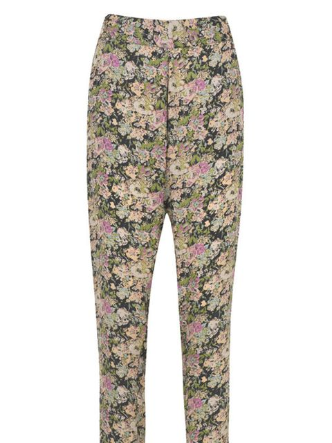 <p>American Retro printed trousers, £139, at Fenwick, for stockists call 0207 629 9161</p>